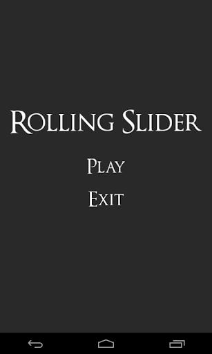 Rolling Slider
