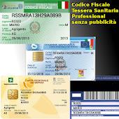 Cod. Fiscale T. Sanitaria Pro
