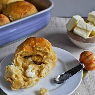 Sweet Potato and Honey Dinner Rolls.