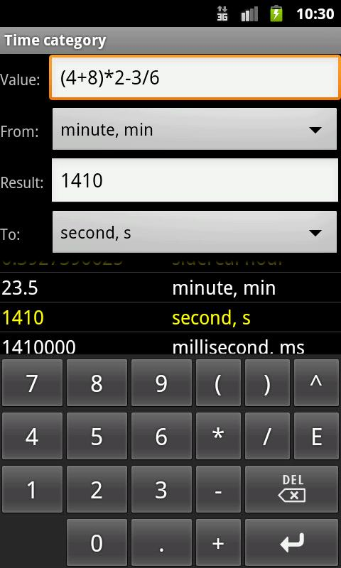 Unit Converter Pro - screenshot