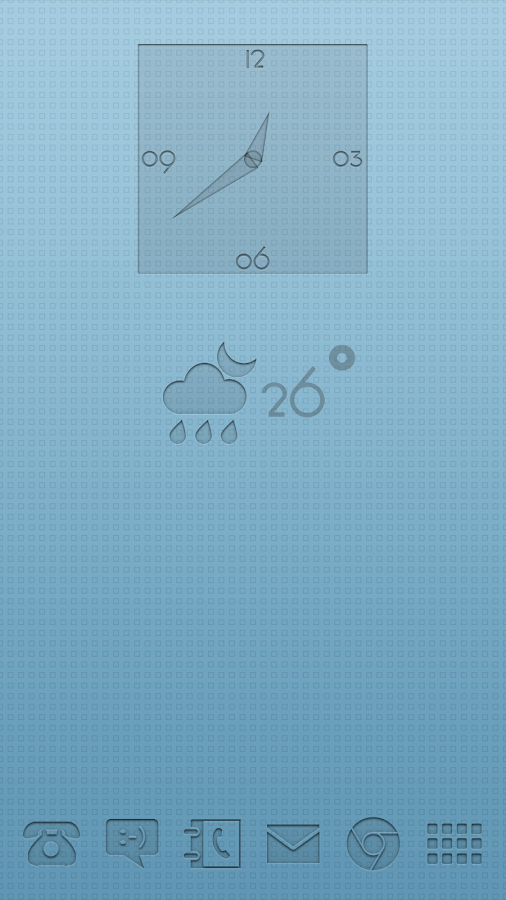PushOn UCCW Clock and Weather- screenshot