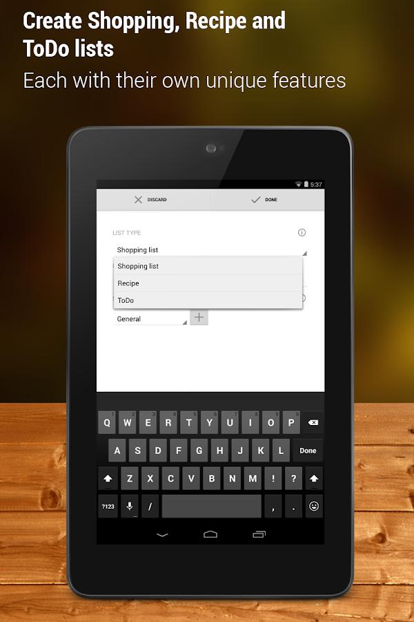 Shopping List - Pro - screenshot