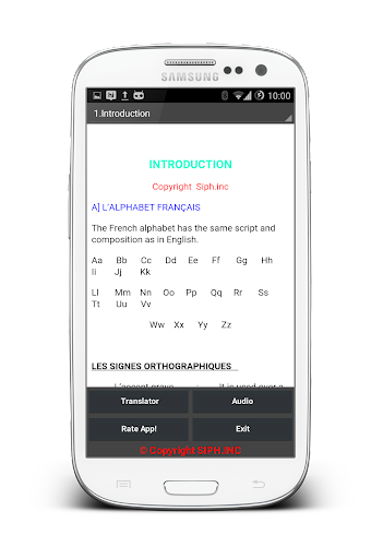 【免費教育App】Study Mate French Grammar-APP點子