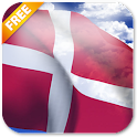 3D Denmark Flag Live Wallpaper