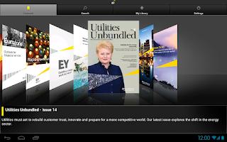 Screenshot of EY Insights