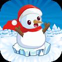 Snowman Jump - Christmas Games icon