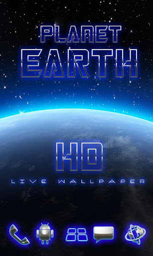 live wallpaper Earth HD 3