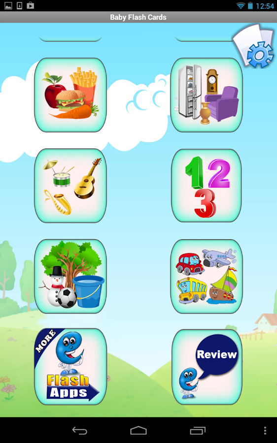 Baby Flashcards for Kids - screenshot