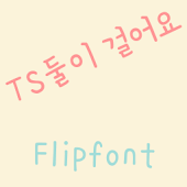 TSloverswalk™ Korean Flipfont