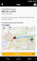 Screenshot of Tick Tack taxi