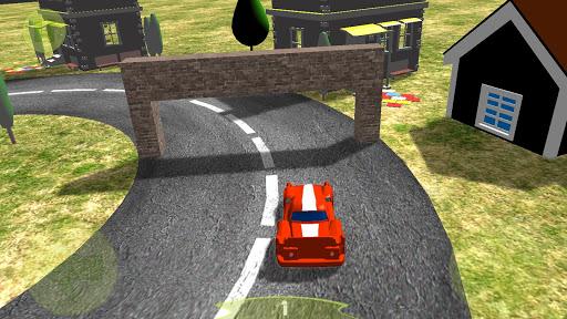 Endless Cycle Race Car Sim 3D+