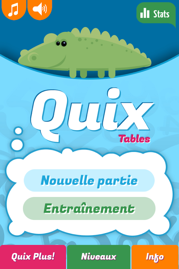 Quix Tables de multiplication – Capture d'écran