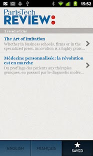 ParisTech Review - screenshot thumbnail