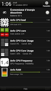 Anfo : hardware monitoring - screenshot thumbnail