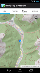 Hiking Map Switzerland- screenshot thumbnail