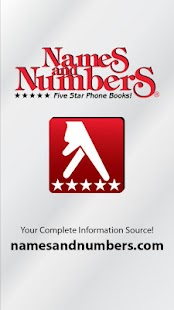 Names and Numbers Yellow Pages