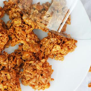 Bocaditos de Corn Flakes y Leche Condensada (Corn Flake Clusters)