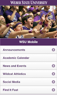 WSU Mobile - screenshot thumbnail
