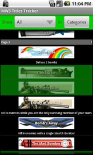 MW3 Title Tracker - screenshot thumbnail