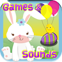 Easter Toddler Games Ad Free icon