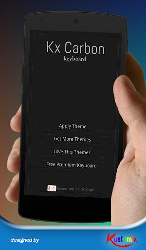 Kx Carbon Keyboard