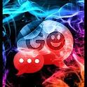 GO SMSテーマカラースモーク icon