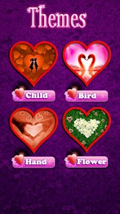 Beautiful Hearts Slide Puzzle- screenshot thumbnail