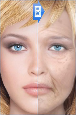 HourFace: 3D Aging Photo - screenshot