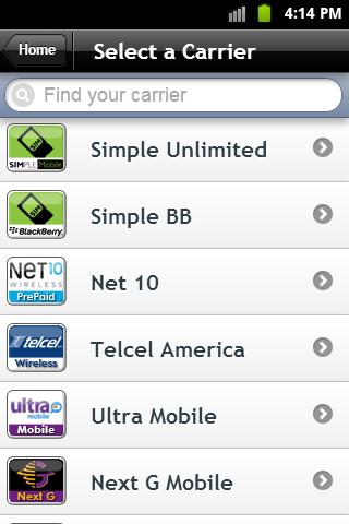 WUReUp - Cell Phone Refills