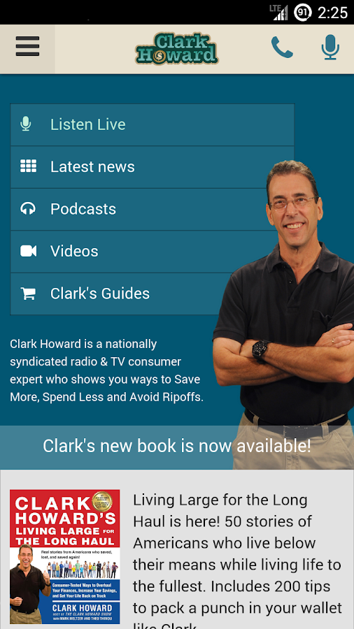 Clark Howard On Demand- screenshot