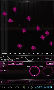 poweramp skin android pink v3.02