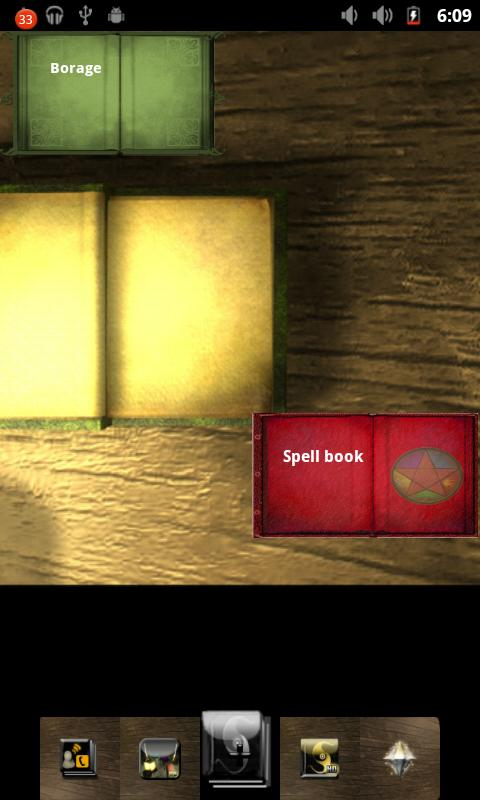 Book of Shadows ADW- screenshot
