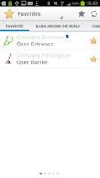 Screenshot of BlueID - your digital key
