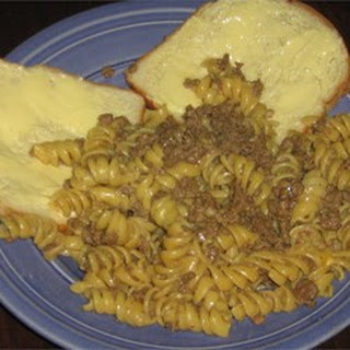 Beefy Cheesy Pasta