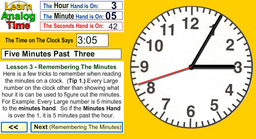 Learn Analog Time Apk Download 12