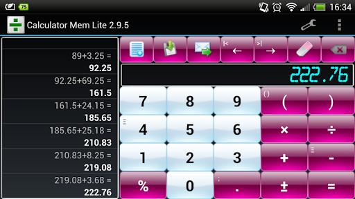 玩生產應用App|CalcMem Lite免費|APP試玩