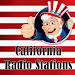 California Radio Stations USA Icon