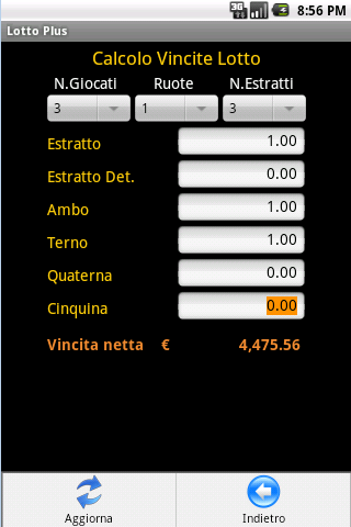 Lotto Plus Professional- screenshot
