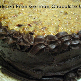 Gluten-Free German Chocolate Cake