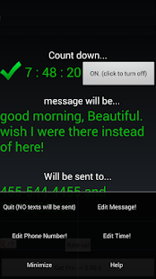 AUTO TEXT GOOD MORNING - screenshot thumbnail