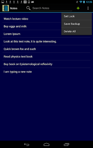 玩生產應用App|Notes (Lock - Backup - Search)免費|APP試玩