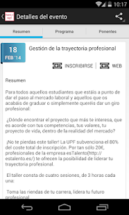 Portal Eventum UPF- screenshot thumbnail