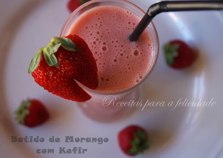 Strawberry Kefir Smoothie Recipe