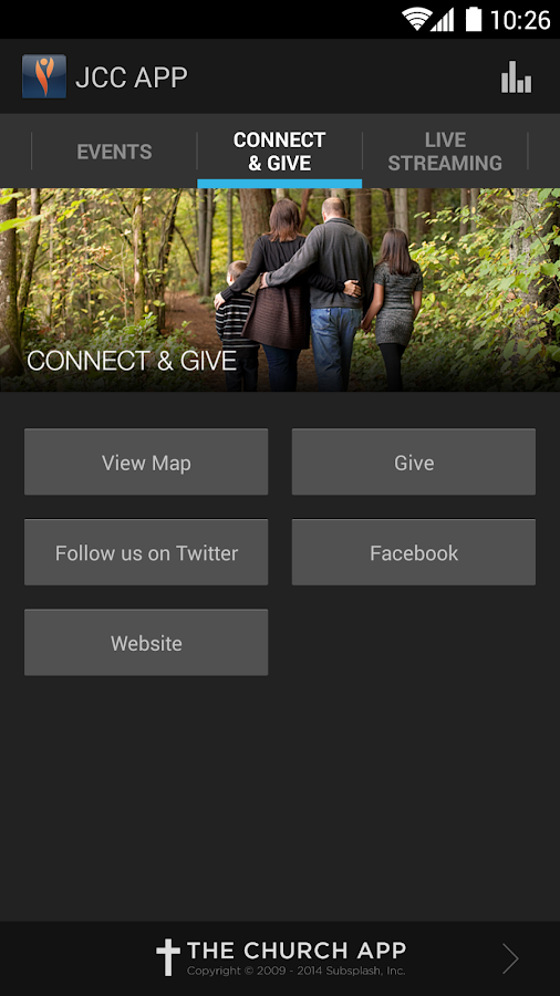 Jubilee Christian Center App - screenshot