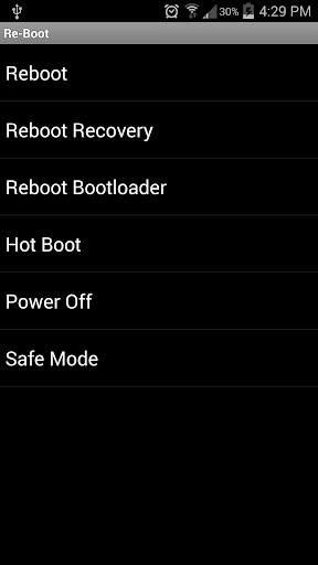 Re-Boot