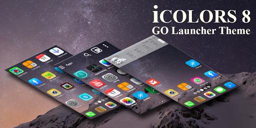 iCOLORS Go Launcher Theme Free