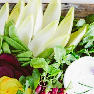 Spicy Garlic Dip for Fresh Vegetables.