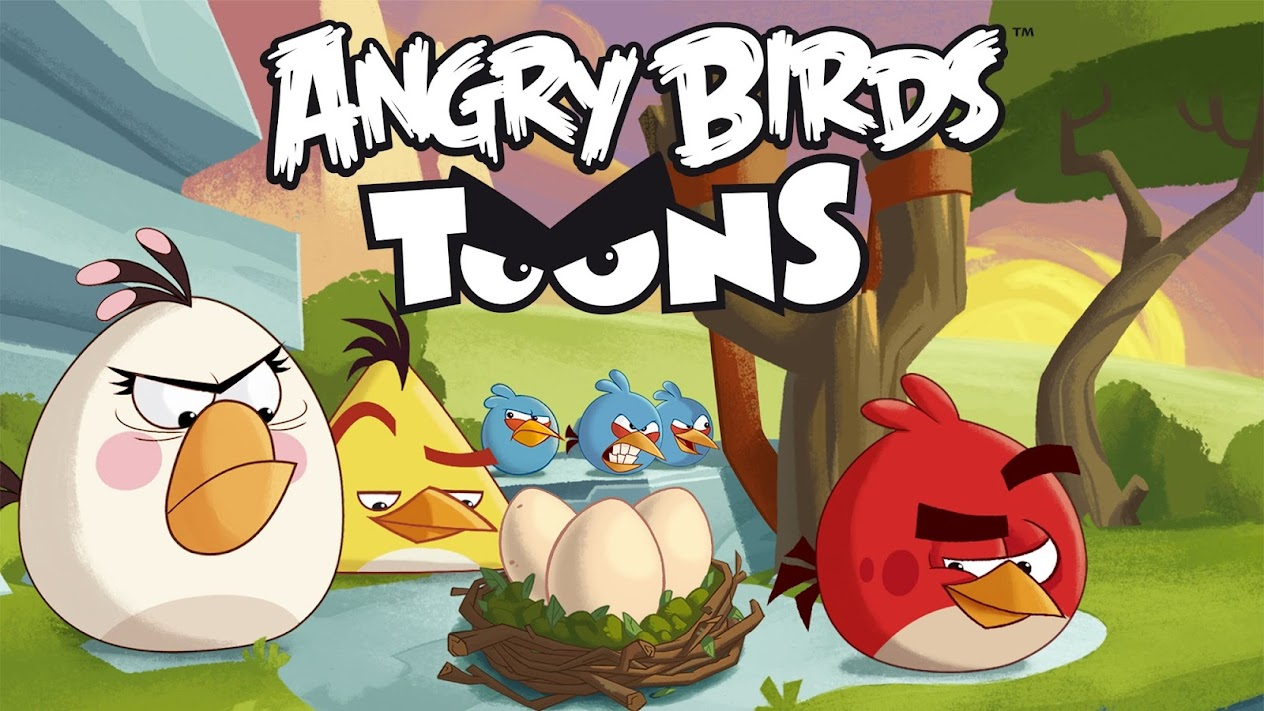 Angry Birds Toons Characters Eggs By Brunomilan13 On: Movies & TV On Google Play