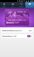 Screenshot of Omni ID