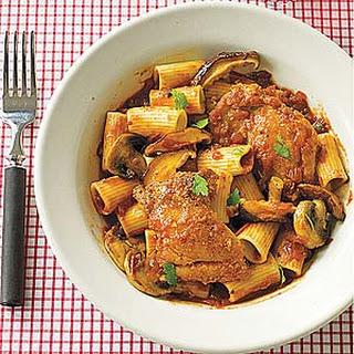 Chicken Cacciatore with Rigatoni.